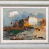 Nicholas Horsfield - Cliffs at le Pollet - Frame