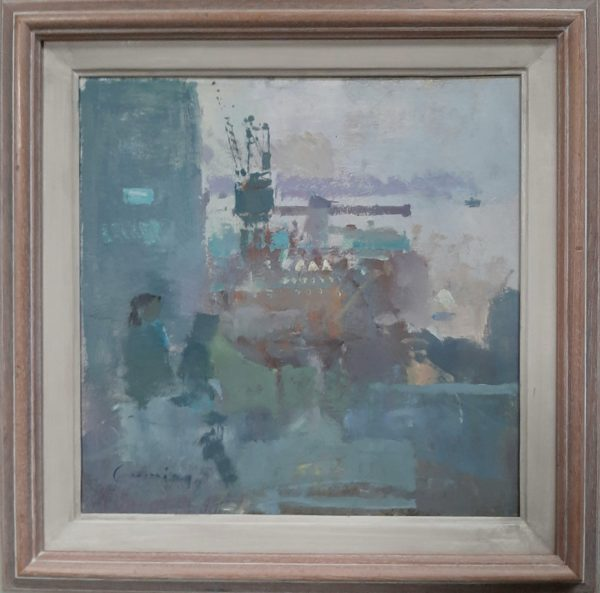 Fred Cuming RA- Boulogn Harbour - Frame