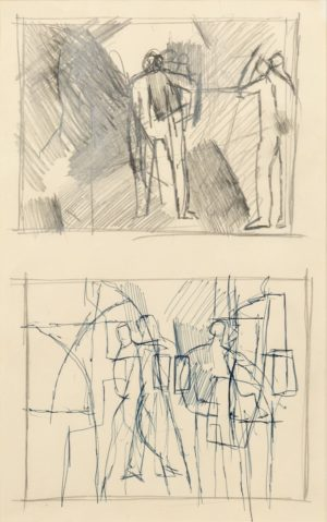 Keith Vaughan -Figure Studies - Front