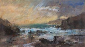 William Selwyn - Stormy Sunset Port Dafarch - 2 Art