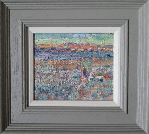 Beach Study - Arthur maderson - Framed