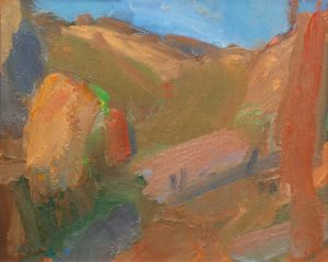 Arthur Neal - Hills behind la Badiloa - Front