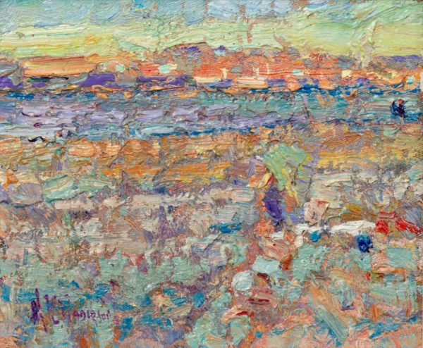 Beach Study - Arthur maderson - Front